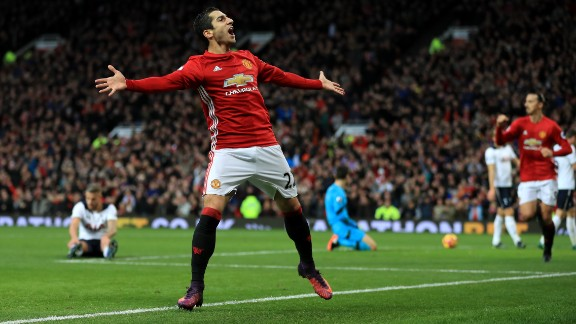 Meanwhile Henrikh Mkhitaryan has left Manchester United to join Arsenal in the transfer swap involving Sanchez.