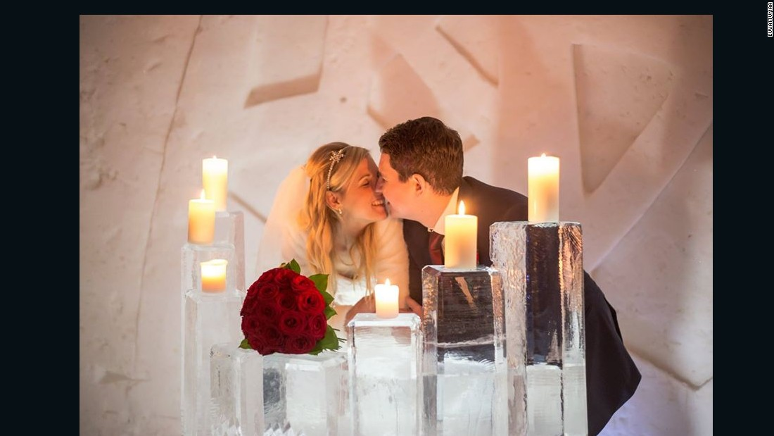 Between 40 and 60 couples are expected to tie the knot at the ice hotel this season.