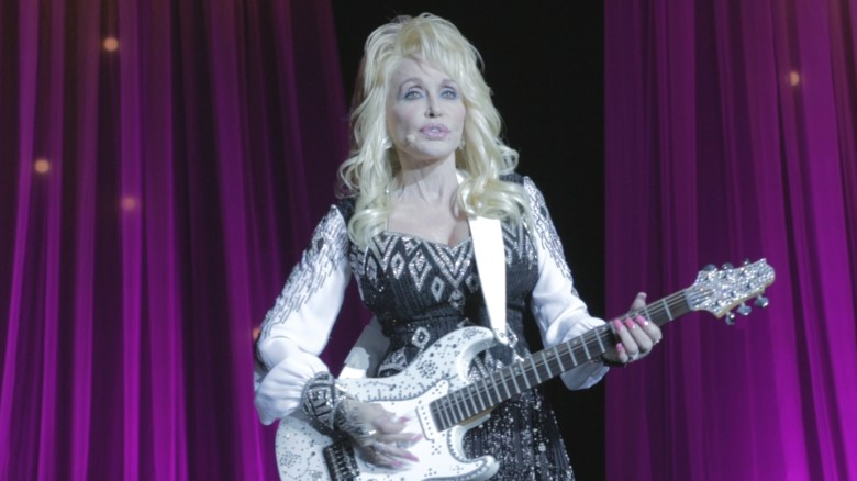 On the road with Dolly Parton