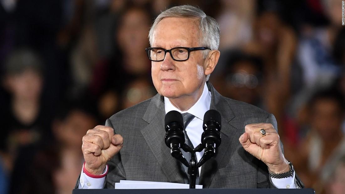 Harry Reid calls for abolishing the filibuster