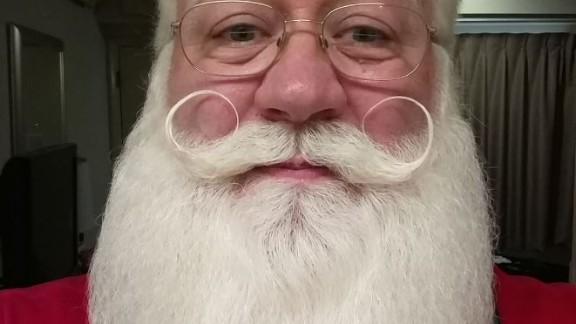 According to Venable, Schmitt-Matzen's beard is regularly bleached to maintain its whiteness.
