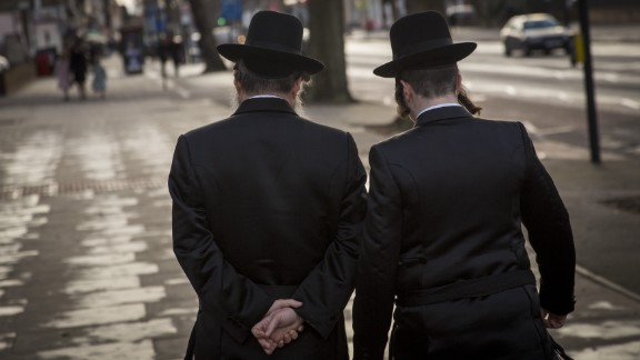 Jewish communities in London (pictured) and Manchester in particular have experienced a rise in hatred