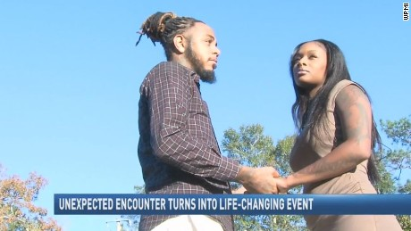 Daiwon McPherson staged an arrest to cloak his marriage proposal and promote Black Lives Matter.