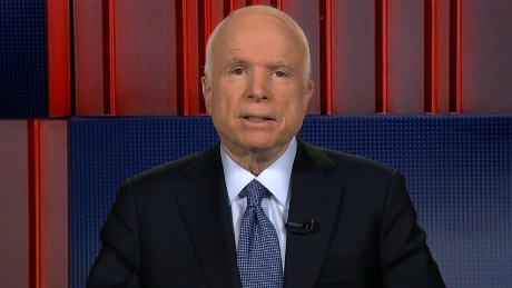 McCain concerned about Russia hacking