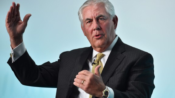 Trump has tapped ExxonMobil CEO Rex Tillerson to serve as secretary of state, the transition team announced December 13. Tillerson, seen here at a conference in 2015, has no formal foreign-policy experience, but he has built close relationships with many world leaders by closing massive deals across Eurasia and the Middle East on behalf of the world's largest energy company.
