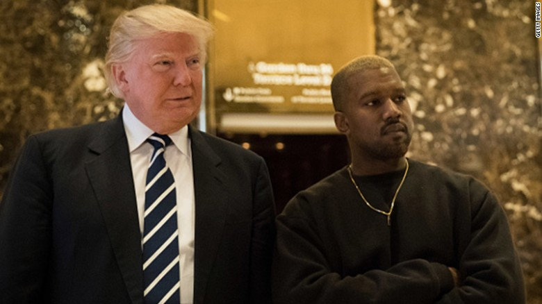 Yes, President Trump just retweeted Kanye West