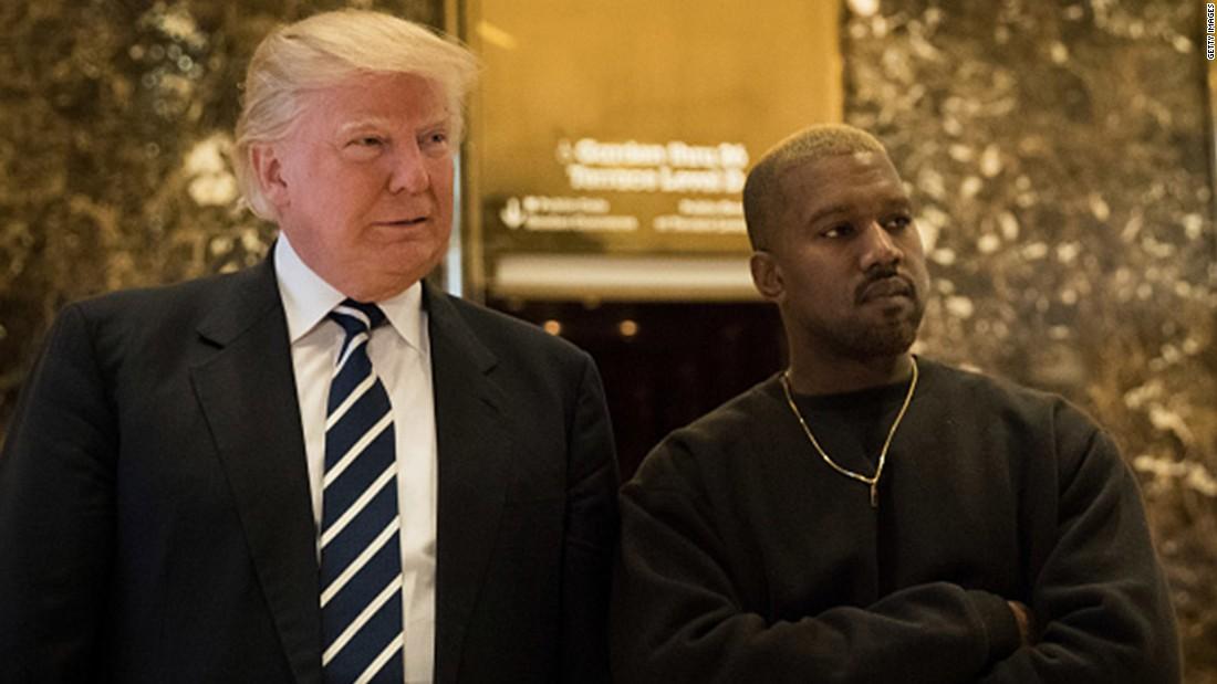 Yes, Trump just retweeted Kanye West