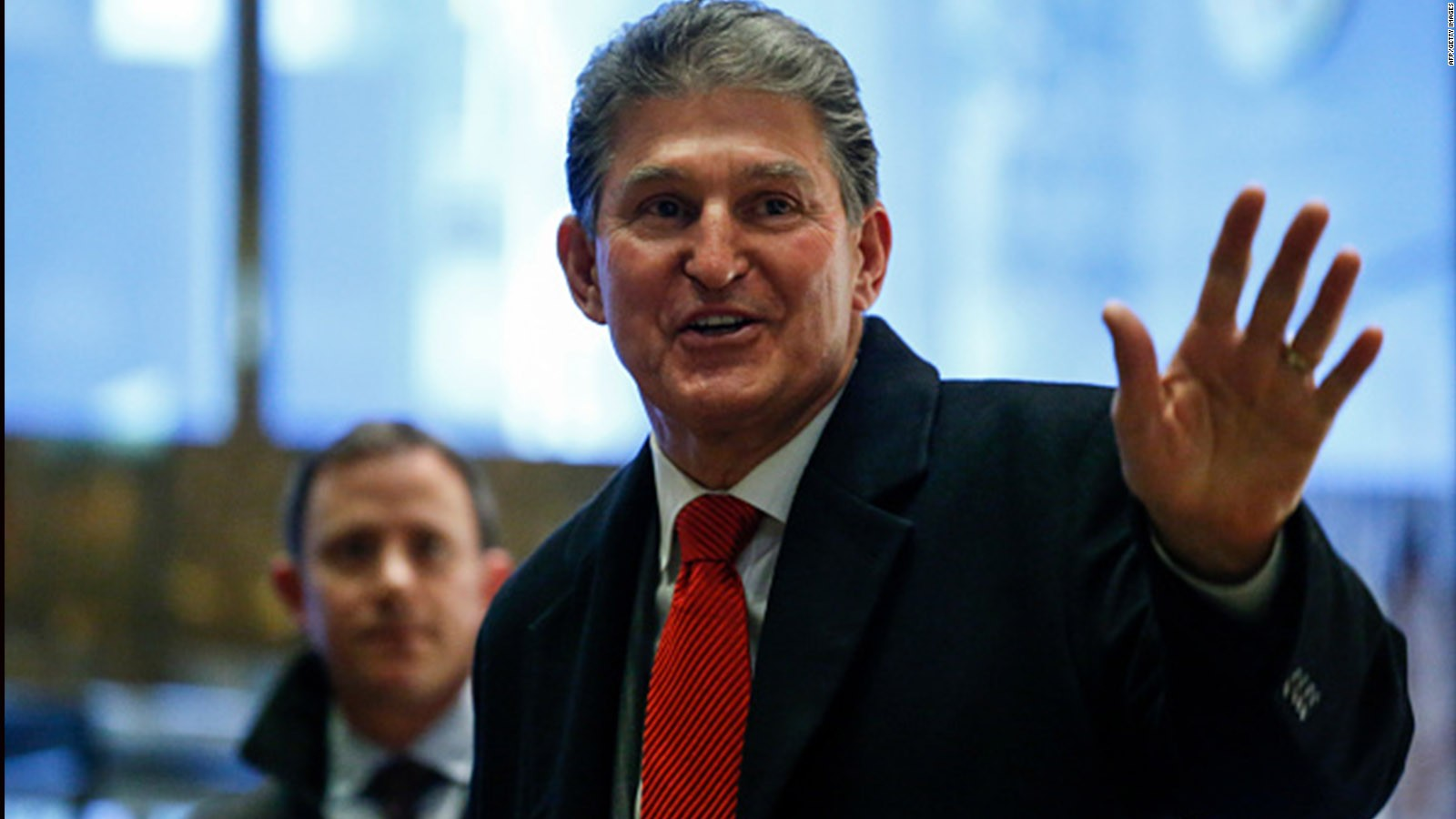 Manchin: Trump should make his clothes in WV
