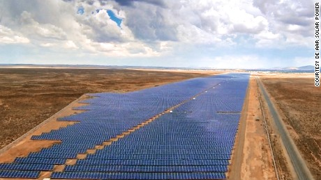 Inside Africa's largest solar farm