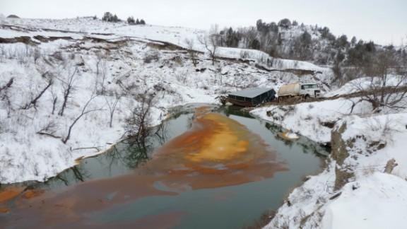 Belle Fourche Pipeline Leak - December