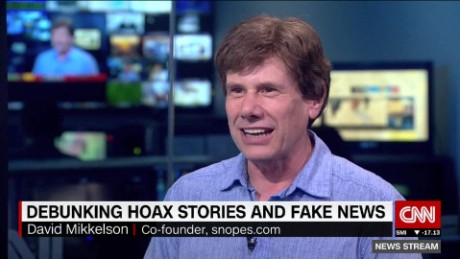 Debunking fake news and hoax stories