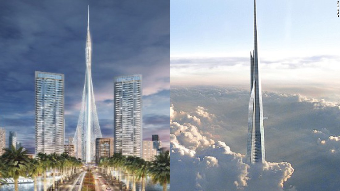 Dubai and Saudi Arabia towers race to be world's tallest