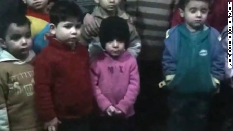 A message from orphans in Aleppo
