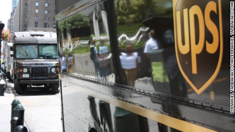 UPS will reroute packages