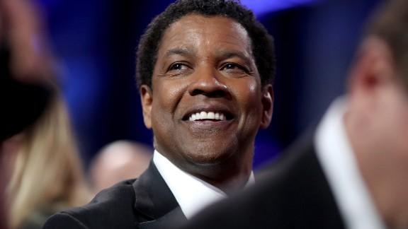 """At 63, Denzel Washington is still just as handsome as he was when he first started in the business on the TV series """"St. Elsewhere"""" in the 1980s."""