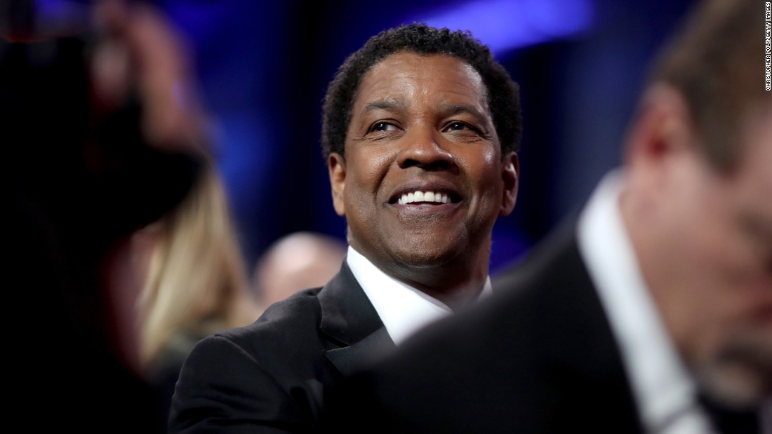 "At 63, Denzel Washington is still just as handsome as he was when he first started in the business on the TV series ""St. Elsewhere"" in the 1980s."