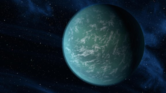 "Kamino is an ocean world in ""Star Wars: Attack of the Clones."" Kepler-22b is an exoplanet that could similarly be covered in a super ocean."