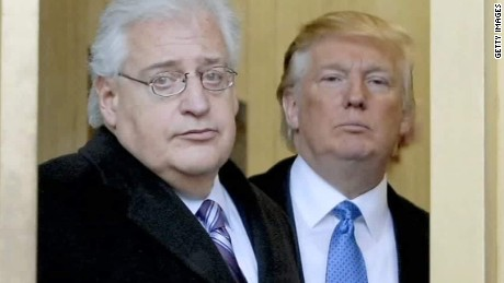 Trump's hard-line Israel ambassador pick will have to bend