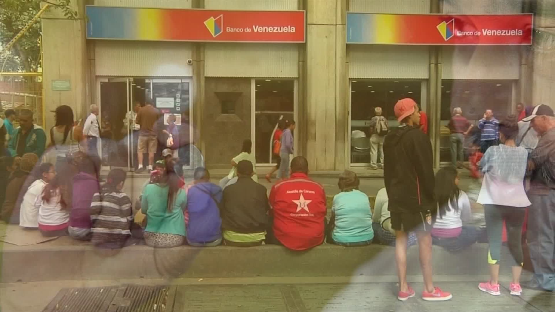 Venezuelan currency exchange causing chaos