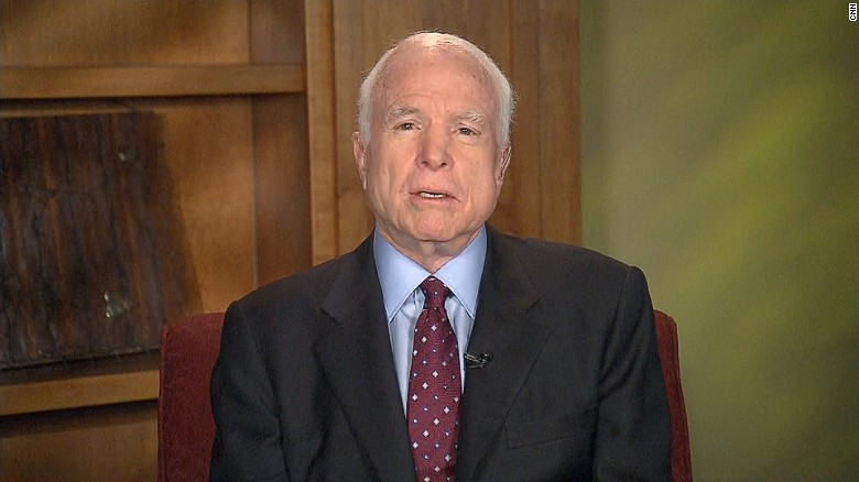 McCain: This is 'unraveling of post-WII peace'