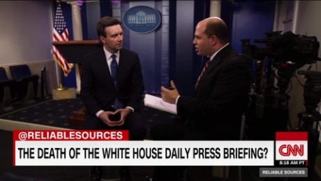 The death of daily White House briefings_00011003