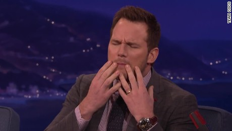 conan chris pratt mouth water dog food_00012503