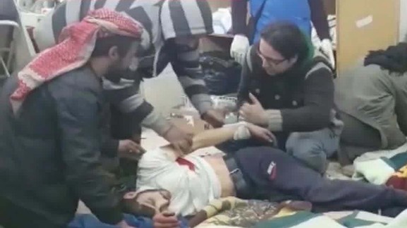 wounded wait for evacuations aleppo israel itn donut_00003612.jpg