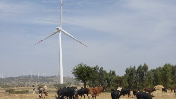 Ethiopia's largest wind farm is now the Adama II facility, with a capacity of 153 MW, but the government plans to inaugurate at least eight farms by 2020.