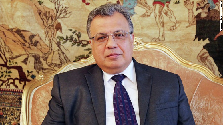 Turkish media: Russian ambassador shot