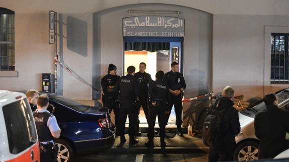 The suspect was found dead near the site of the attack, police said.