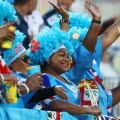 fiji colour in the stands