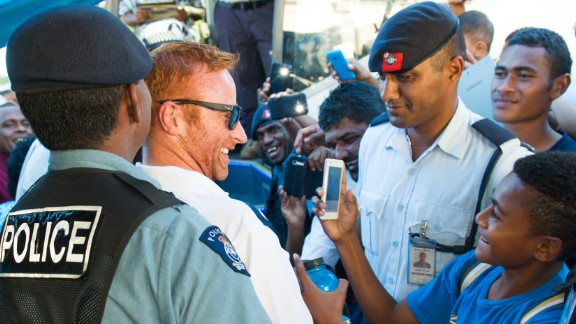 Members of the public would line up at his home in Fiji to give him gifts and thank him for what he had achieved.