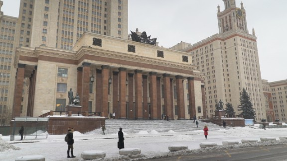 When completed, Moscow State University was the seventh tallest skyscraper in the world, and the tallest outside of New York. The Russian university covers more than 1.6 square kilometers.