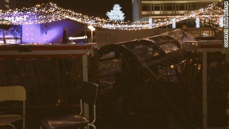 """Lorry just ploughed through Christmas market in #berlin. There is no road nearby. People crushed. I am safe. I am safe"" https://twitter.com/ERushton/status/810924729972518912"