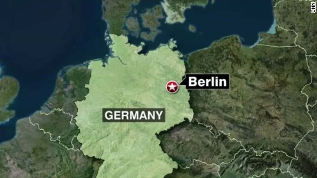 Germany truck plows through market Asher segment_00001318