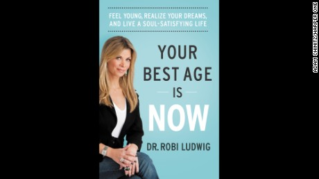 Robi Ludwig hopes her book will help change societal views about midlife.