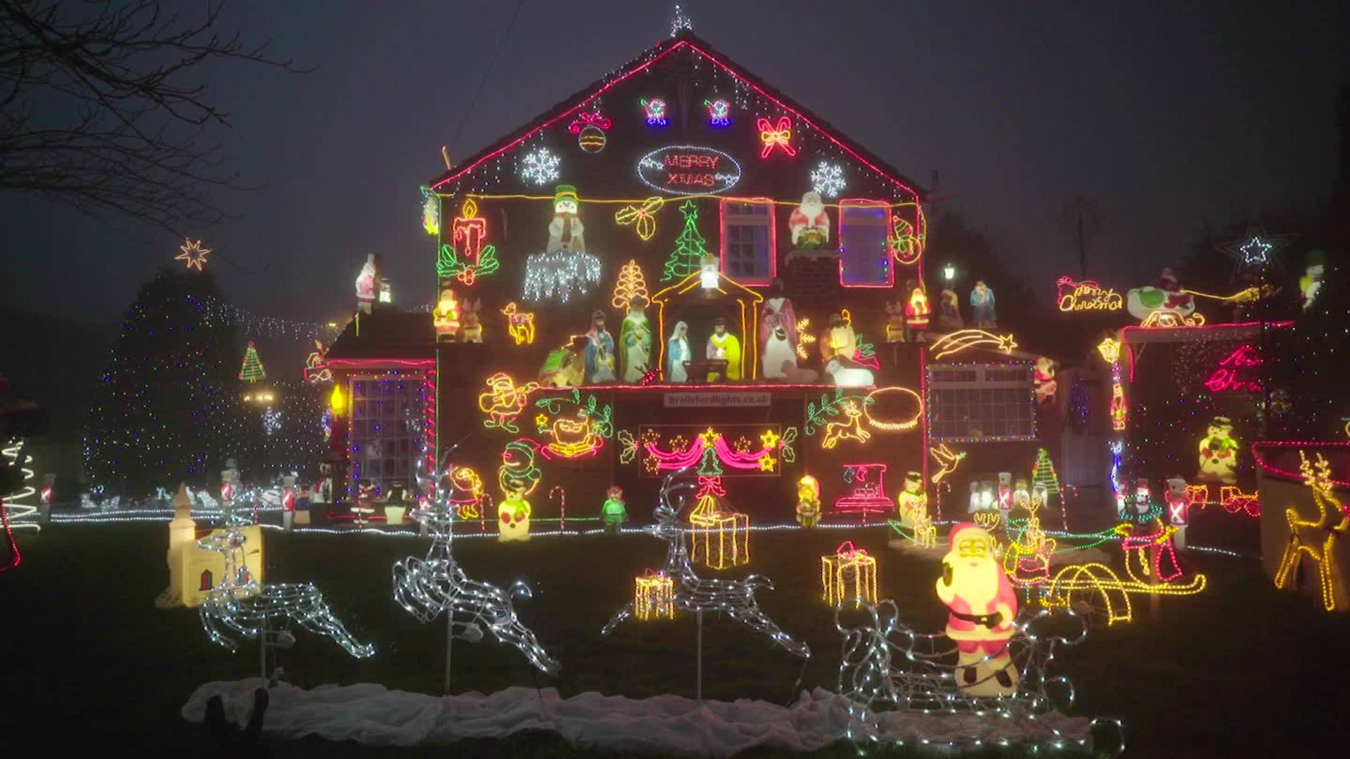 & Christmas lights obsession - CNN Video