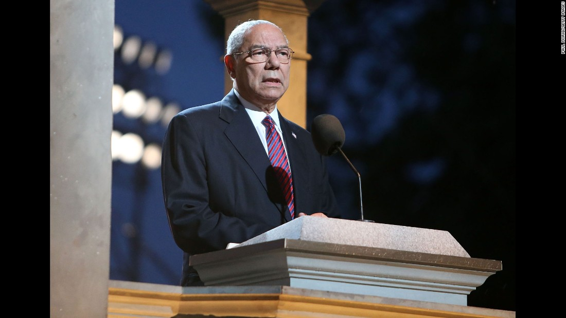Colin Powell was a lot of 'firsts.' In this way, he was also the last