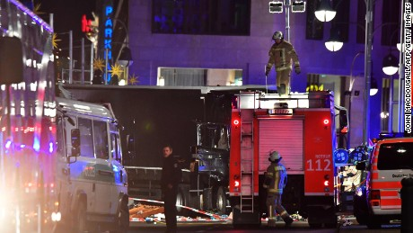 Berlin's idyllic Christmas market turned nightmare: Witnesses describe scene