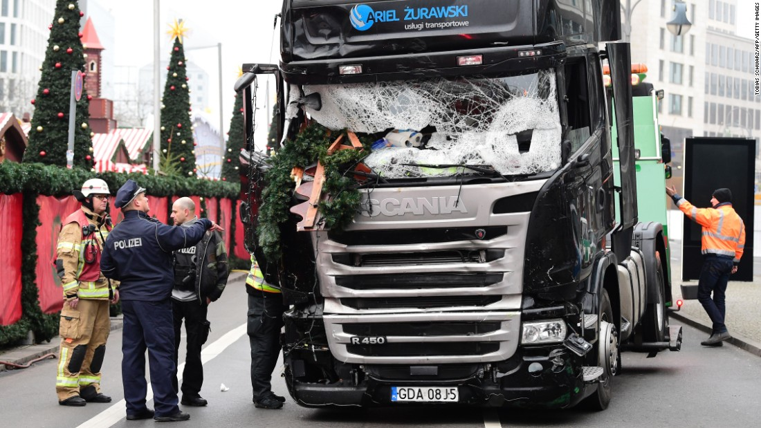 5e016211d1 Berlin attack  Police hunt Tunisian suspect after finding ID papers in truck  - CNN