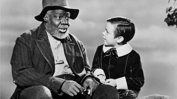 """James Baskette portrayed Uncle Remus in """"Song of the South,"""" which perpetuated the Lost Cause stereotype of cheerful blacks living under segregation."""