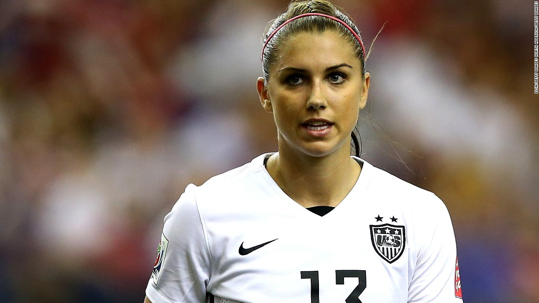 Alex Morgan Apologizes For Behavior At Disney World Cnn