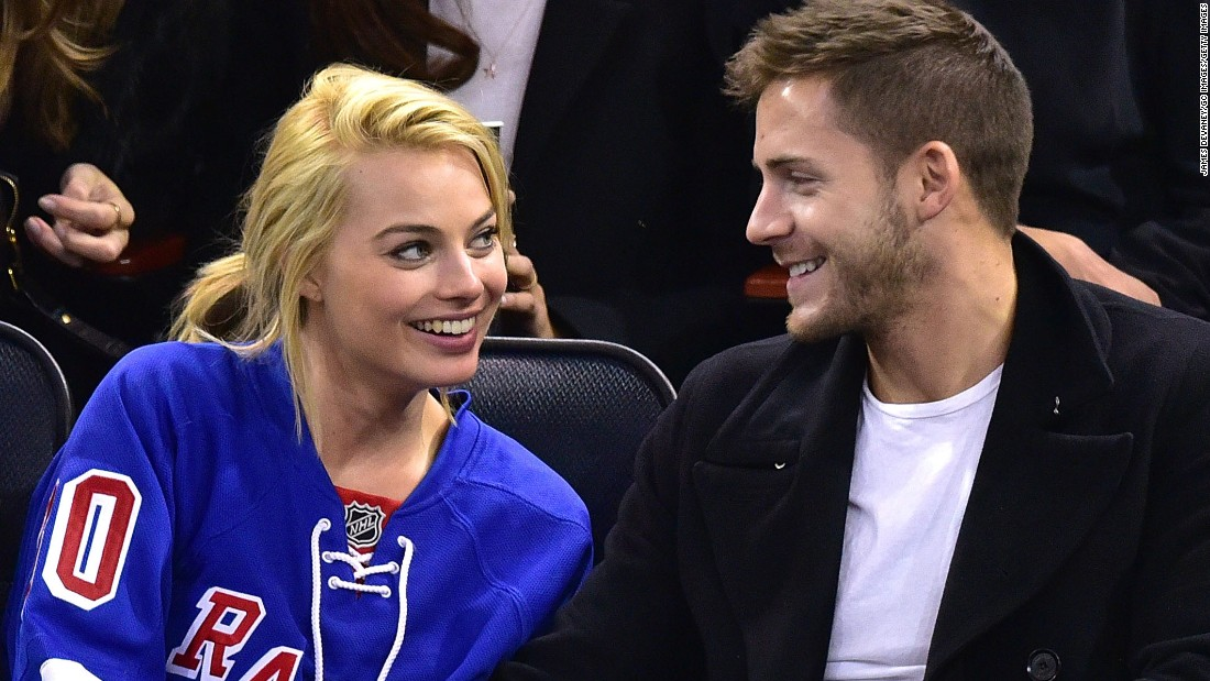 "Margot Robbie offered a saucy <a href=""http://www.cnn.com/2016/12/20/entertainment/margot-robbie/index.html"">confirmation of her marriage</a> to British director Tom Ackerley. Australian news sources indicated the duo married in a secret, private ceremony."
