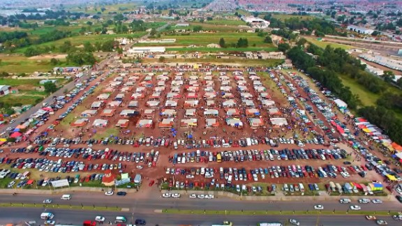 A video posted on YouTube shows what the San Pablito market in Tultepec looked like in 2015.