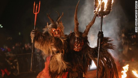 Krampus will take your Elf on the Shelf and BURN IT.
