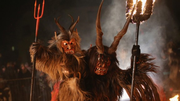 Krampus is one of many holiday traditions meant to distinguish the naughty from the nice.