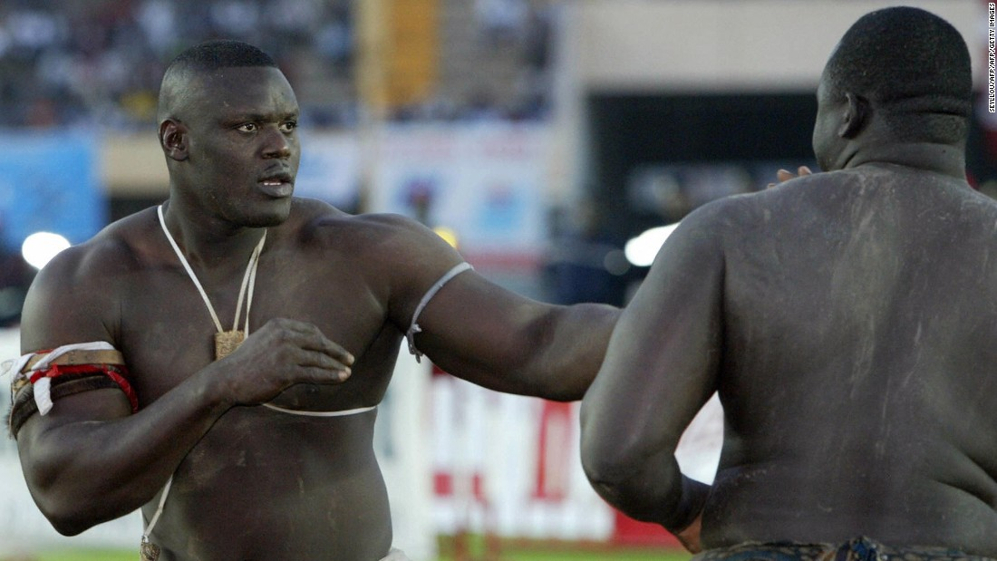 Senegalese Wrestling Grappling In The Land Of Giants Cnn
