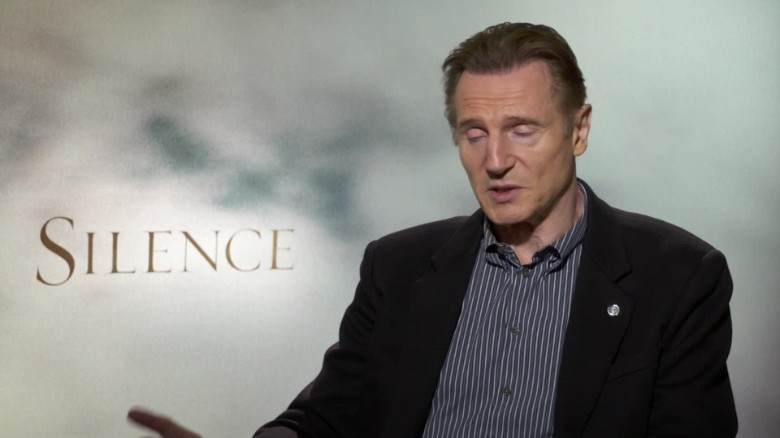 Neeson: 'Silence' is about searching for faith