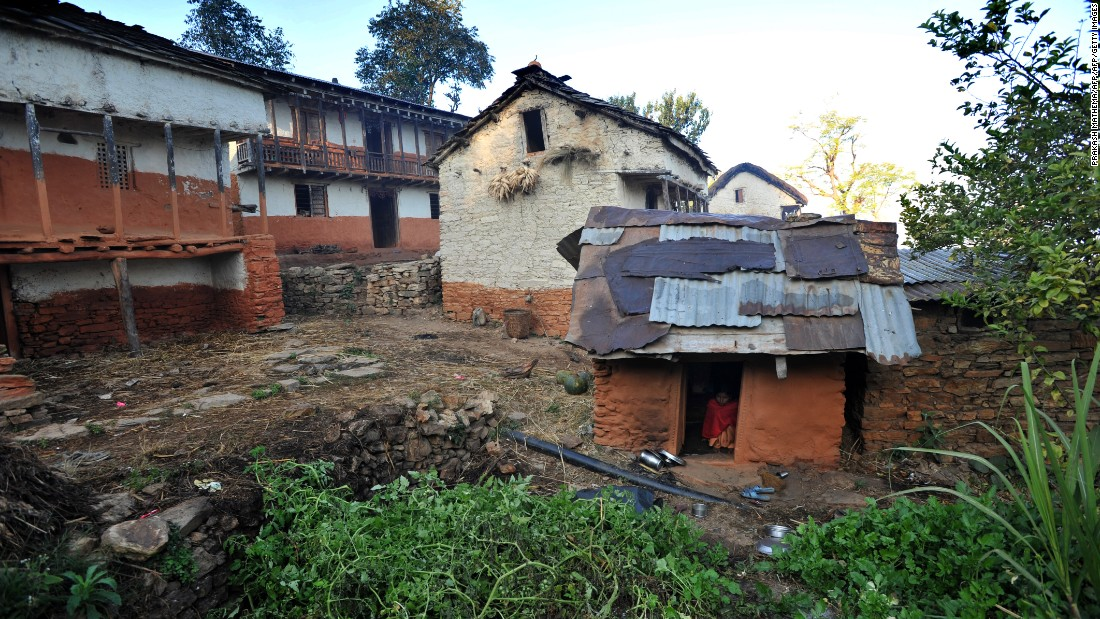 Girls in Nepal sleep in 'menstruation huts' despite ban, study finds
