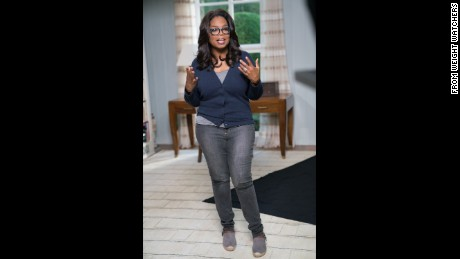 Oprah credits Weight Watchers for helping her lose 40 pounds.
